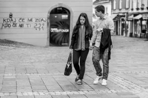 Ulična fotografija mesta Maribora